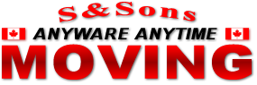 S & Sons Moving